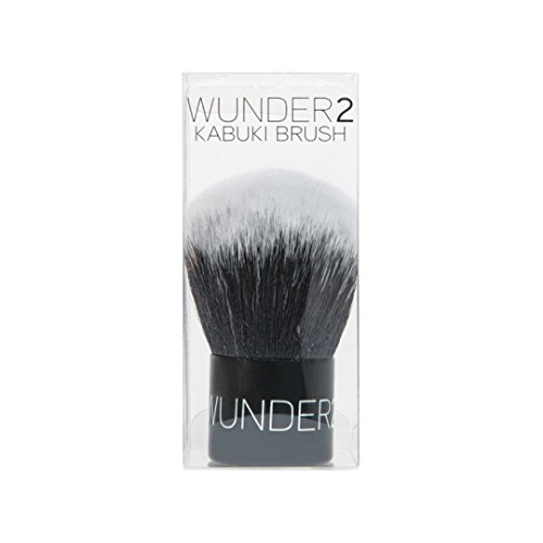 WUNDER2 KABUKI Brush For A Perfect Finish With Powder Makeup (Best Finishing Powder For Photos)