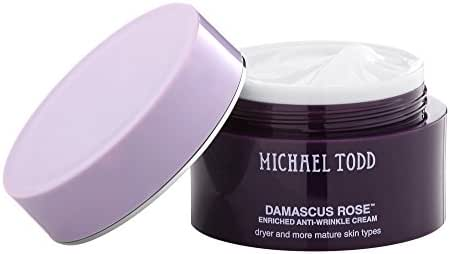 Michael Todd Damascus Rose Enriched Anti-wrinkle Cream, for Dry and Mature Skin Types, 1.7 oz