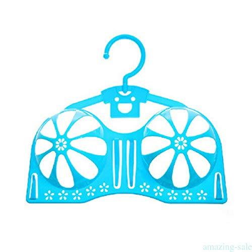 MOPOLIS Anti Deformation Bra Hanger Form Drying Rack Holder Anti-Skid Storage Shaper MQ2 (Color - Blue) ()