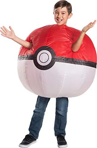 Rubie's Pokemon Child's Inflatable Poke Ball Costume -