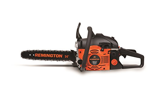 Remington RM4214 Rebel 42cc 2-Cycle 14-Inch Gas Powered Chainsaw Automatic Chain Oiler-Anti Vibration System.