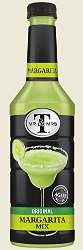 Mr & Mrs T's Cocktail Mix 1 Liter-Pack of 6 (Original Margarita)