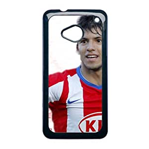 Generic Love Back Phone Case For Girl Printing With Sergio Aguero For Htc One M7 Choose Design 3