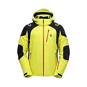Spyder MONTEROSA Homme Ski Jacket – Jaune