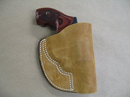 Charter Arms Undercover, Bulldog, Revolver Inside the Pocket Leather Concealment Holster CCW ITP (Inside Bulldog Pocket)