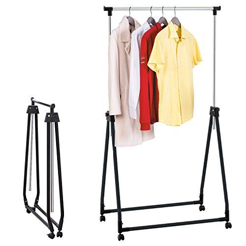 tatkraft halland collapsible adjustable clothes rack. Black Bedroom Furniture Sets. Home Design Ideas