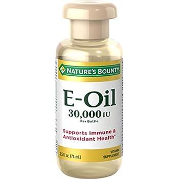 Nature's Bounty® Vitamin E-Oil 30,000 IU (Topical or Oral), 2.5 ounces