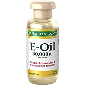 Gut Health Shop 415q1J6Wz%2BL._SS300_ Vitamin E Oil by Nature's Bounty, Supports Immune Health & Antioxidant Health, 30,000IU Vitamin E, Topical or Oral oil…