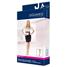 Sigvaris Womens EverSheer OT Panty Hose 20-30mmHg : Small Long Suntan by Sigvaris