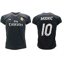 Camiseta de Fútbol Luka Modric 10 Real Madrid 2ª Equipación Negra Temporada 2018-2019 Replica