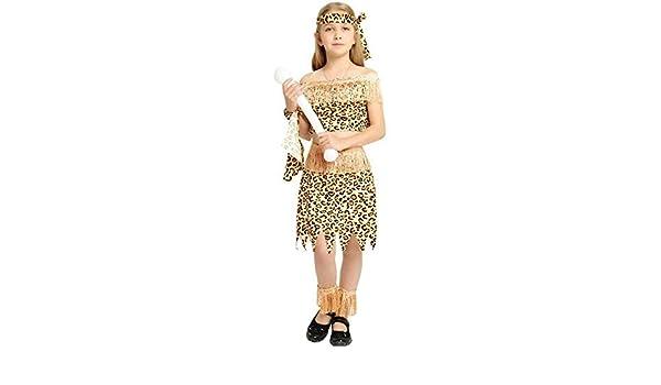 Lili Disfraz De Halloween Africano Indio Original Cosplay ...