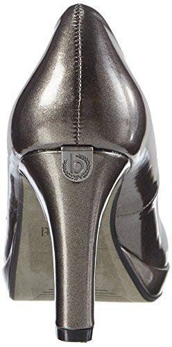 Bugatti Women's V4964pr6l Closed-Toe Pumps Grey (Grau/ Braun) L8nl6