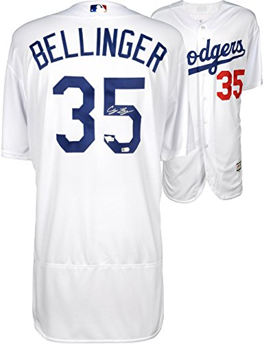 Cody Bellinger Los Angeles Dodgers Autographed Majestic White Authentic Jersey - Fanatics Authentic Certified ()