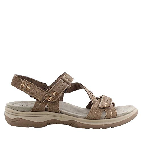 Earth Origins Women's, Holland Sandals Brown 7.5 W (Earth Shoes Clearance)