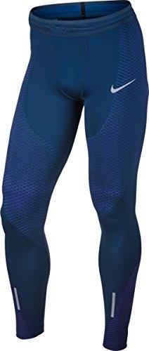 NIKE Zonal Strength Men's Running Tights (Medium, Binary Blue) (Nike Pro Zonal Strength Mens Training Tights)