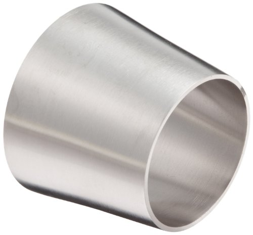DixonB31W-G250200P Stainless Steel 304 Polished Fitting, Weld Concentric Reducer, 2-1/2