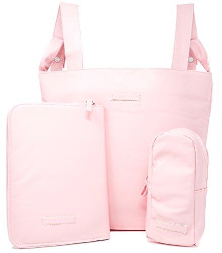 Bolso carro bebe, funda cartilla sanitaria bebe, guarda biberones, bolsos para carritos de bebe, bolsa panera. (Azul)