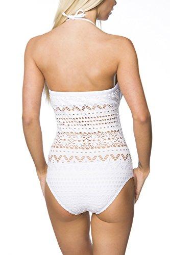 luxury & good Dessous - Traje de una pieza - para mujer blanco