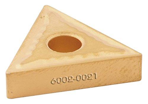 HHIP 6020-1121 TPG 21.51 Tin Coated C6 Positive Rake Carbide Insert 1//4 IC