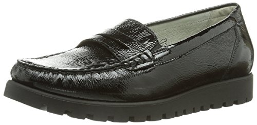 really for sale free shipping cheapest price Waldläufer Women 549002 Ama143 Moccasins Black (Taipei Schwarz) comfortable online discount countdown package owKrOdgK6