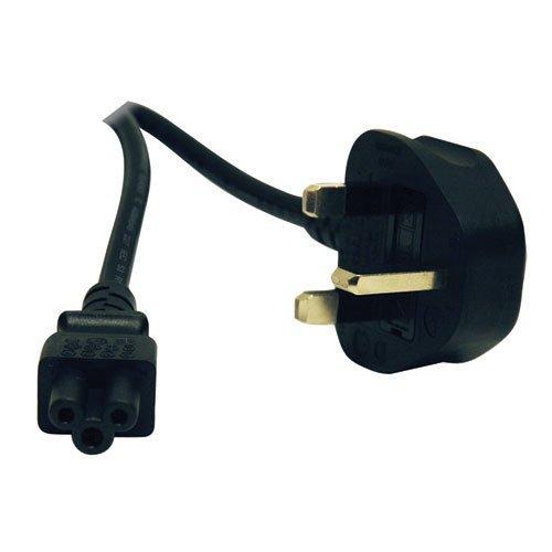 Tripp Lite Standard UK Computer Power Cord (C5 to BS-1363 UK Plug) - Co Uk Shopping Online