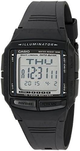 Casio Men s DB36-1AV Multilingual Databank Watch