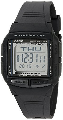 Casio Men's DB36-1AV Multilingual Databank Watch