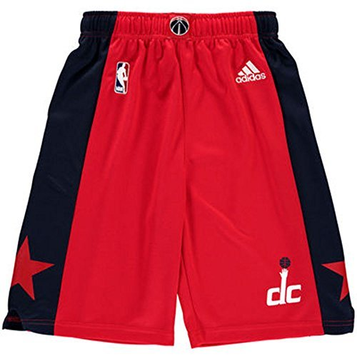 Washington Wizards Adidas Youth Red Replica On-Court Performance Shorts ()