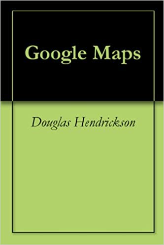 Google Maps Kindle Edition