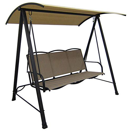 Garden Winds 3 Person Sling Swing Replacement Canopy Top Cover (Swing Walmart Patio)
