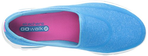 Skechers 13955 - Super Sock - Zapatillas de deporte, Mujer Azul (Turquesa)