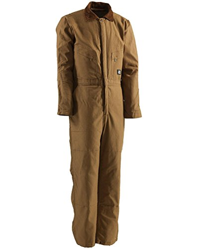 Berne Men's Big Deluxe Insulated Coverall, Brown, ()