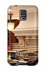 First-class Case Cover For Iphone 6 Dual Protection Cover Dark-stained Peninsula And White Cabinets In Light-filled Kitchen Sending Screen Protector in Free