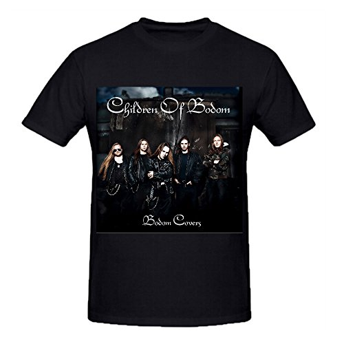 Timico Bodom Covers-Children Of Bodom Custom Men T Shirts Black (Fotos De Cristiano Ronaldo compare prices)