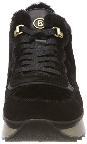 01 Nero Donna Fee SAAS Black Sneaker Bogner 1m cwR0XWFFq