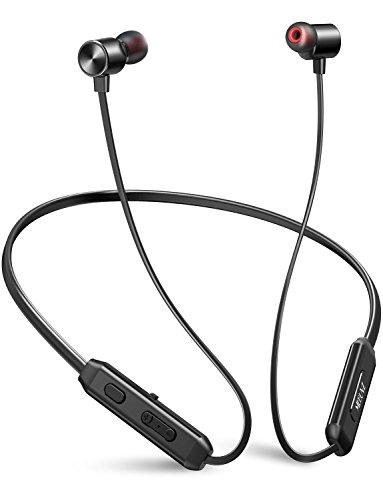 Neckband Bluetooth Headphones, MEBUYZ Magnetic Wireless Earbuds, Waterproof...