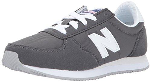 New Balance Kids' Kl220 Sneaker,Grey/White,6 Wide US Little Kid
