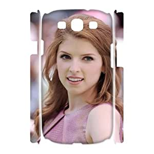 D-PAFD Anna Kendrick Customized Hard 3D Case For Samsung Galaxy S3 I9300