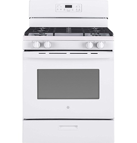 reestanding Gas Range with 4 Burners, Sealed Cooktop, 5 cu. ft. Primary Oven Capacity, in White ()
