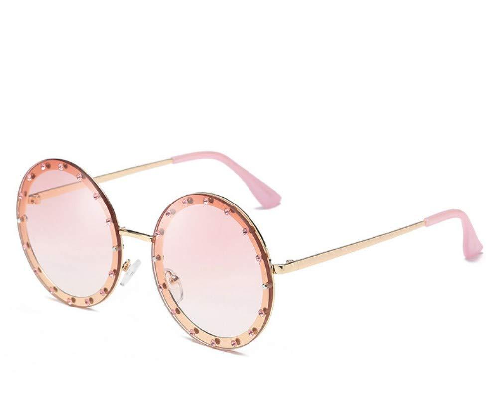 Gafas De Sol,Ronda Decorativos De Cristal Gafas De Sol Mujer ...