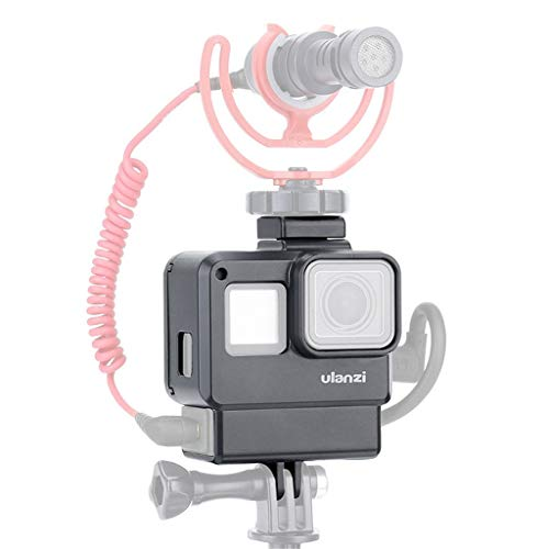 Orcbee  _Ulanzi Vlog Housing Case Shell for GoPro 7/6/5 Vlogging Protective Frame