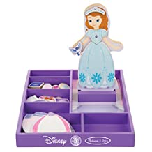 Melissa & Doug Disney Sofia the First Magnetic Dress-Up Wooden Doll Pretend Play Set (30+ pcs)