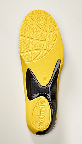Premium Basketball Insoles (Boys 5.5-7 / Girls 6.5-8)(1-Pair): Best Kid's Shoe Insert for Heel, Knee, Foot Support To Relieve, Reduce Pain From Severs and OsGood Schlatters Disease. Guarantee!