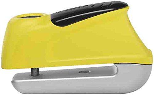 Abus Trigger Alarm Disc Lock - 350 Yellow - 9.5mm 4003318 55973 0