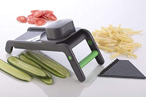 ASPERIA Potato Slicer for Chips Vegetable & Fruit Cutter Slicer,Chipser for Chips Vegetable, Vegetable Slicer for Kitchen, Slicer Vegetable Cutter, Grater and Slicer, Vegetables Cutter for Kitchen Price & Reviews