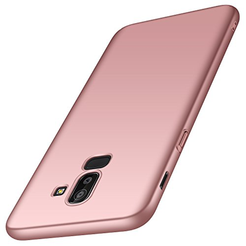 Protection Material - Anccer Compatible for Samsung Galaxy J8 2018 Case [Colorful Series] [Ultra-Thin] [Anti-Drop] Premium Material Slim Full Protection Cover for Samsung Galaxy J8 2018 (Rose Gold)