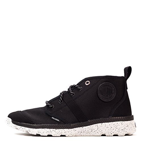 Palladium Pallaville Hi Txsn Mens Black Canvas Casual Dress Oxfords Shoes ihh5A