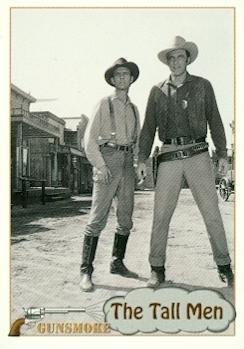 The Tall Men trading Card (Gunsmoke, TV Show) 1993 Pacific #99 (Trading Tv Show Card)