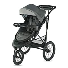 Enjoy 7 different ways to walk, jog or run together as the child grows from infant to big kid with the Graco Modes Jogger SE Stroller. The reversible stroller seat allows baby to face you or the world and reclines to create to a cozy infant b...