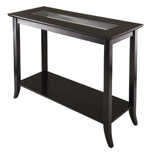 Espresso Collection Foyer Table - Winsome 92450 Genoa Occasional Table, Dark Espresso